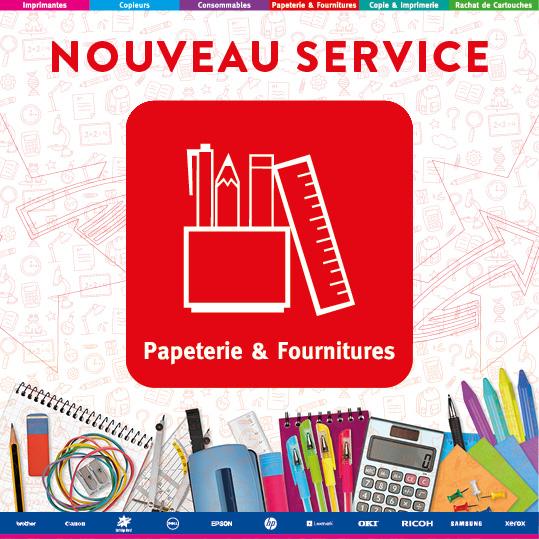 NOUVEAU SERVICE - Papeterie & Fournitures